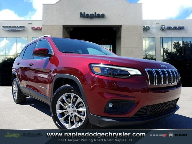New 2019 JEEP Cherokee Laude Plus Sport Utility in Naples ...