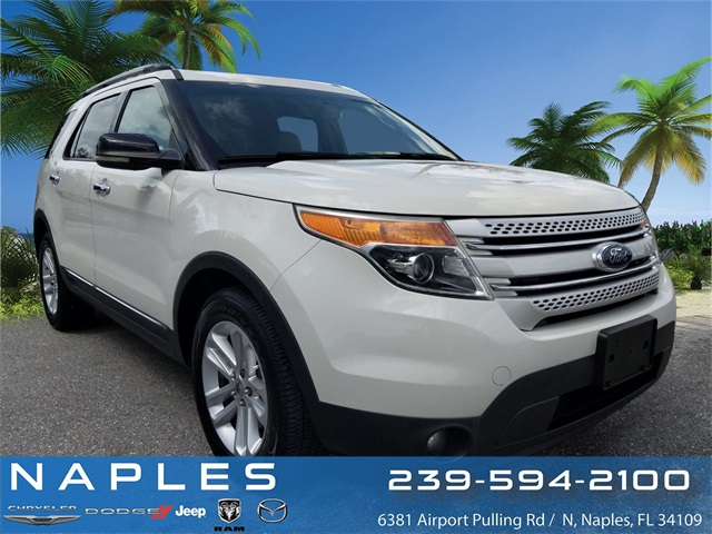 2011 Ford Explorer For Sale >> Pre Owned 2011 Ford Explorer Xlt 4d Sport Utility In Naples