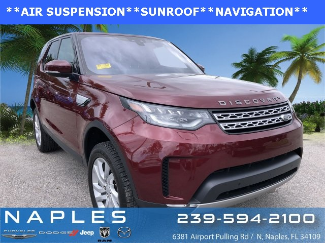 Pre-Owned 2017 Land Rover Discovery HSE